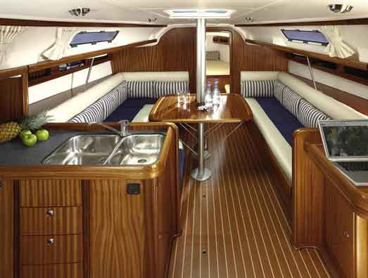 Charter Yacht - A medium sized 3 cabin yacht, accommodating up to 7 people.