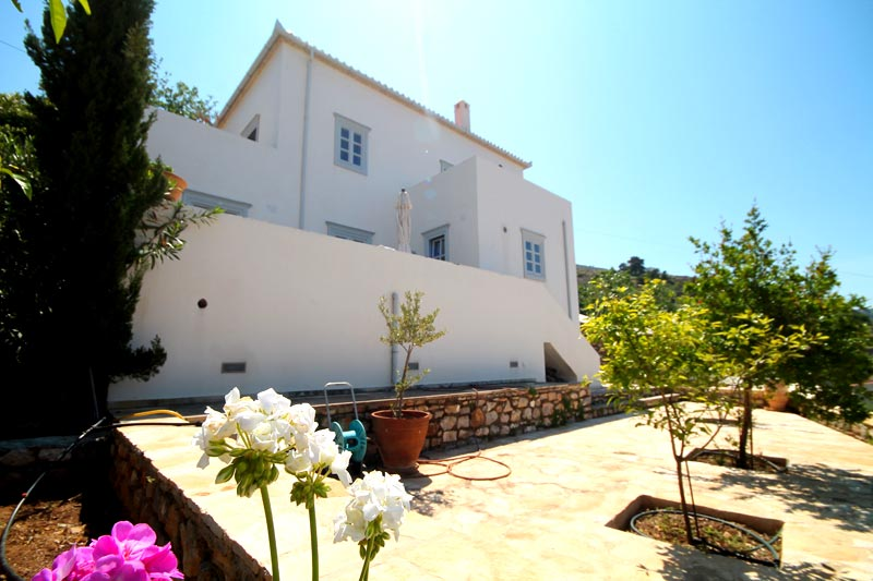 New House for sale on Hydra Island, Greece. Built to a very high standard, with wonderful sea views.